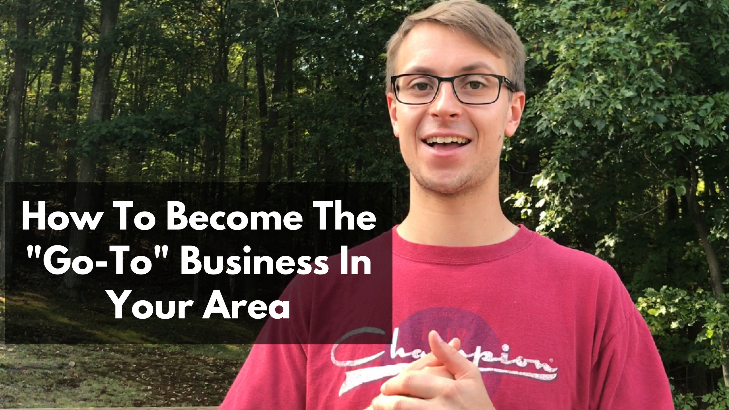 How To Become The -Go-To- Business In Your Area Thumbnail Image